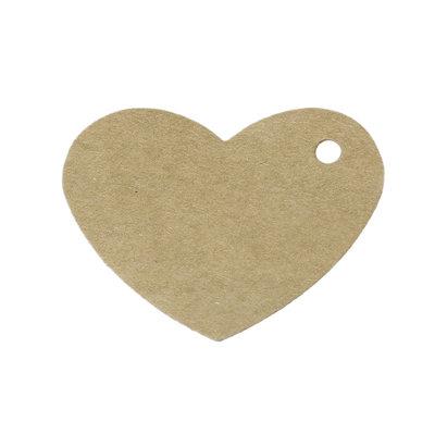 10 kraft label hart